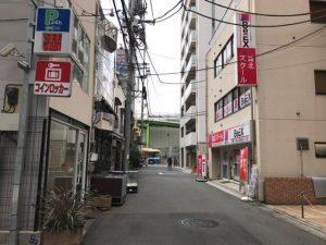 現在の光輪ストリート