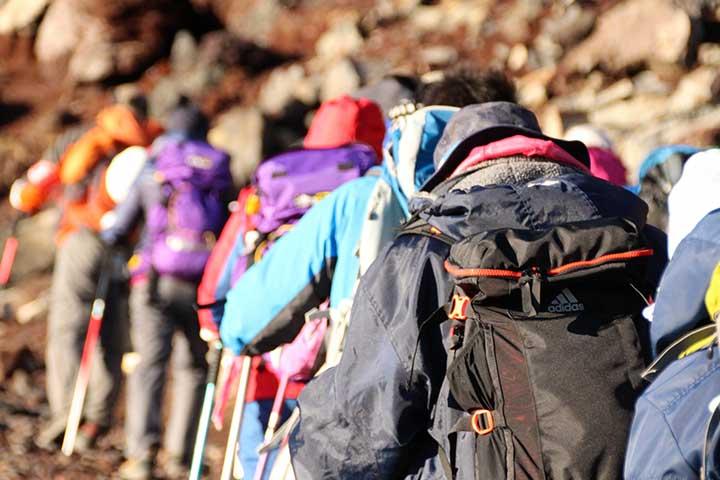 登山課題管理